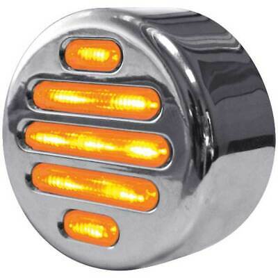 "2"" FLATLINE CLEAR AMBER LED MARKER LIGHT By TRUX Accessories"
