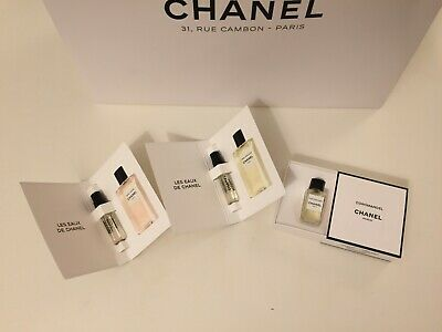 Chanel : 1957, Sycomore, Boy, Gardenia, NEW LES EXCLUSIFS All EDP