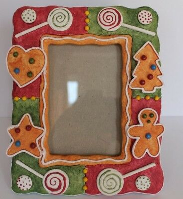 Resin Gingerbread Photo Frame