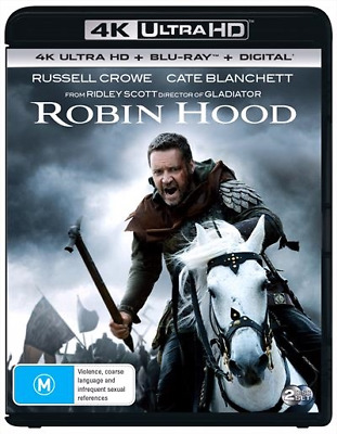 Robin Hood 4K Ultra HD : NEW UHD Blu-Ray