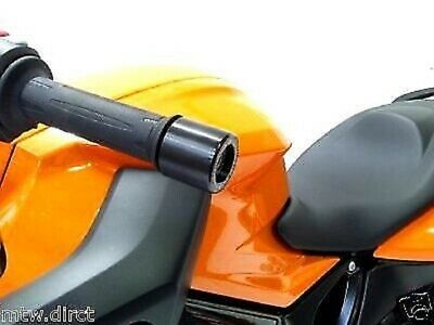 BMW F800 R 2009 - 2018 R&G Racing Bar End Weights Sliders BE0049BK