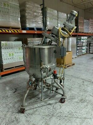 Groen 60 Gallon Steam Kettle With Agitator And Stand