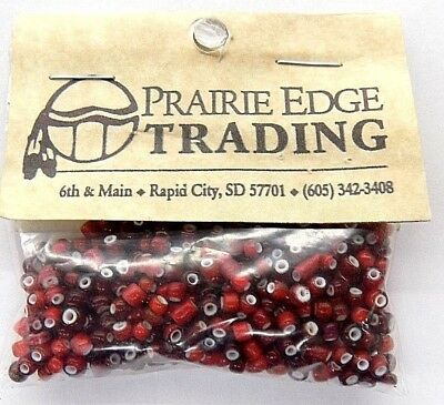 Wholesale Antique White Heart Trade Beads from Murano Italy   V 42