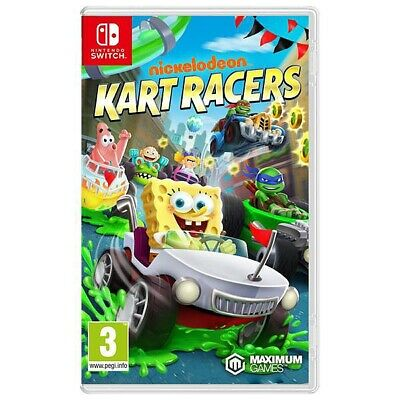 Jeux Switch Nickelodeon Kart Racers Neuf