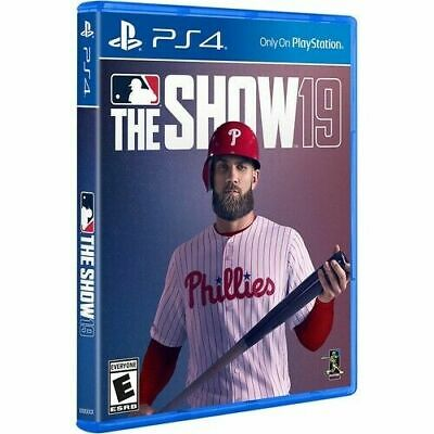 MLB 19: The Show PS4 NEW!