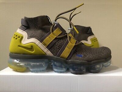 Nike Air Vapormax Flyknit Utility Ridgerock Moss AH6834-200 8-11 100% Authentic