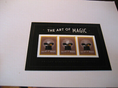 Us Sheets   2018    Scott#nw189      The Art Of Magic Souvenir Sheet