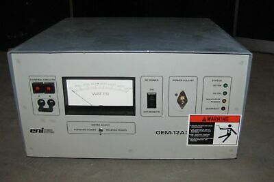 Eni Model Oem-12A Solid State Rf Power Generator  (#2074)