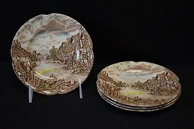 Johnson Brothers Olde English Countryside Set of 4 Bread & Butter Plates