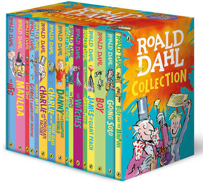 Roald Dahl Collection, 16 Book Box Set