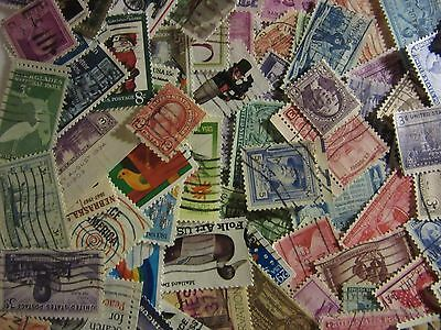 Old Timers stamp hoard of 200 ALL DIFFERENT USED STAMPS with FREE SHIPPING L24