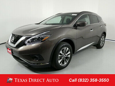 2018 Nissan Murano SV Texas Direct Auto 2018 SV Used 3.5L V6 24V Automatic FWD SUV