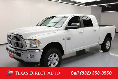 2012 Ram 2500 Big Horn Texas Direct Auto 2012 Big Horn Used Turbo 6.7L I6 24V Automatic 4WD Pickup