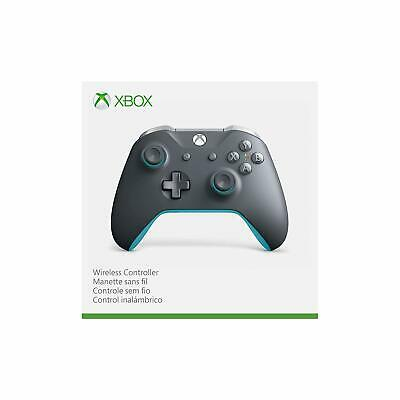 Official Microsoft Xbox One Wireless Controller - Grey & Blue - New & Sealed