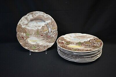Johnson Brothers Olde English Countryside Set of 10 Dinner Plates