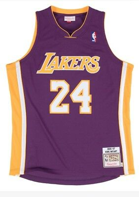 5ae69ad73 100% Authentic Kobe Bryant Mitchell Ness 06 07 Lakers NBA Jersey Size 44 L  Large