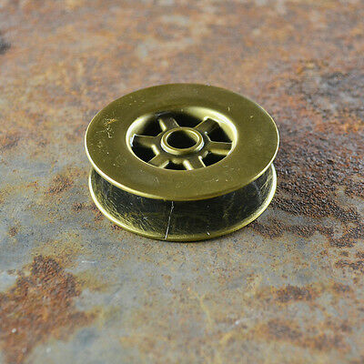 Iron Pulley Barn Door Hardware Pulley Light Parts Set of 4 Metal Pulley Antique Brass Pulley Wheels Best Quality