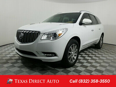 2016 Buick Enclave Leather Texas Direct Auto 2016 Leather Used 3.6L V6 24V Automatic FWD SUV OnStar