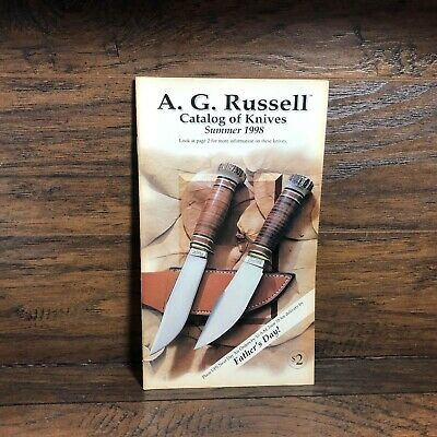 Vintage A.G. Russell Catalog of Knives  Knife Collector Summer 1998 Book