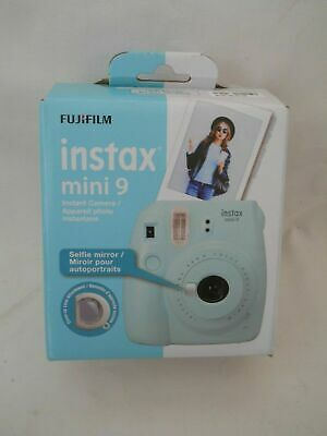 "Fujifilm Instax Mini 9 Instant Film Camera - Ice Blue        ""NEW OPEN BOX"""