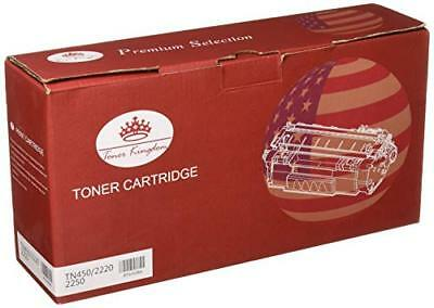 Toner Kingdom New Compatible with Brother TN450 (TN420) High Yield Black Toner C