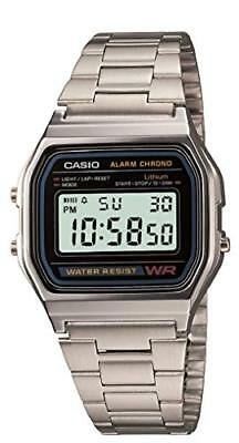Casio Men's A158WA-1 Water Resistant Digital Watch