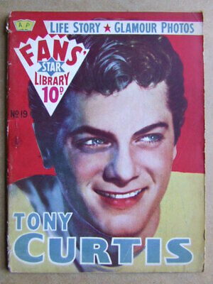 Fans' Star Library. No 19.  Tony Curtis.