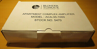 Blonder Tongue ACA-35-1000 Apartment Complex Amplifier