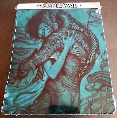 THE SHAPE OF WATER 4K UHD + Blu-Ray Best Buy Exclusive Limited Edition STEELBOOK