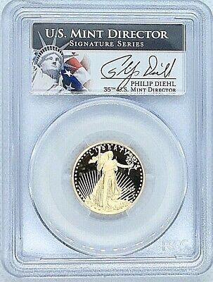 1998 W American Gold Eagle Proof 1/4 oz $10 PCGS PR69 Deep Cameo Key Date Coin