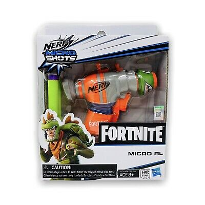 NERF Elite Fortnite RL MicroShots Dart Firing 2 Darts Toy Blaster #03 SOLD OUT