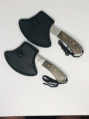 2 pack of Tomahawk Axe Army Hunting Camping Survival Hatchet Fire Axes