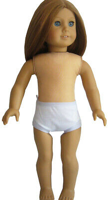 White Undies Panties for American Girl Doll Clothes Underwear