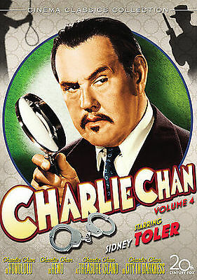 Charlie Chan Collection, Vol. 4 (Charlie DVD