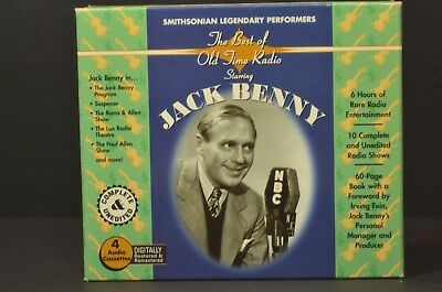 The Best of Old-Time Radio Starring Jack Benny (1999, Cassette 4 Tapes