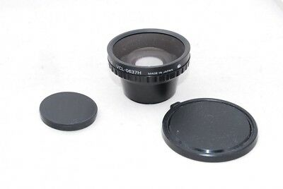 (5142) Sony Wide Conversion Lens VCL-0637H x0.6 from JAPAN, EXC!!