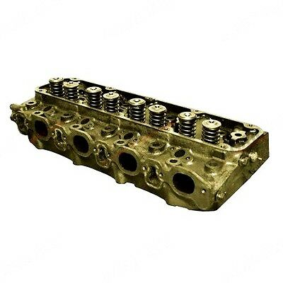 Cylinder Head With Valves Fits Ford 5610 6410 6610 6710 Tractors New
