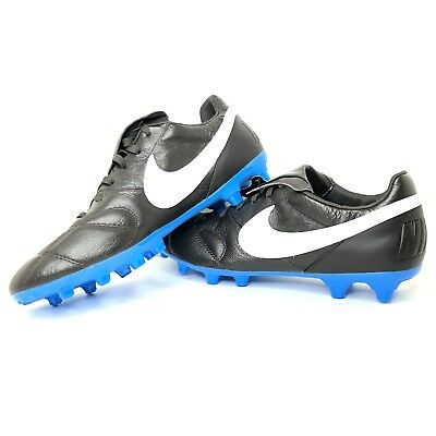 finest selection 92ca2 975fb Nike Premier II FG Leather Soccer Cleats Brown Blue B917803 214 Men 10 New  Pro