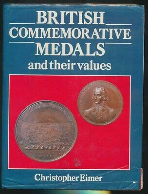 British Commemorative Medals 1087-1986 Catalogue w Valuation 1987, 265 Pgs