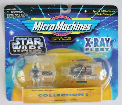 Vintage Star Wars Space Micro Machines X-RAY FLEET #1 TIE FIGHTER  by galoob MOC