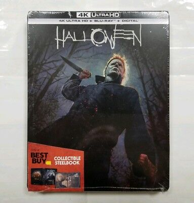 "Halloween 2018 (4K Ultra HD/Blu-ray/Digital) Steelbook Edition ""NEW/SEALED"""