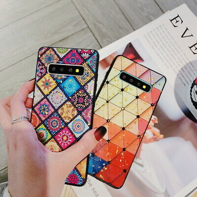 Colorful Diamond Silicone Soft Case Cover For Samsung S10 S10 Plus S9 S8 Note 9
