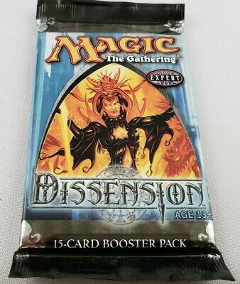 Dissension Booster Pack Sealed and New MTG Magic the Gathering