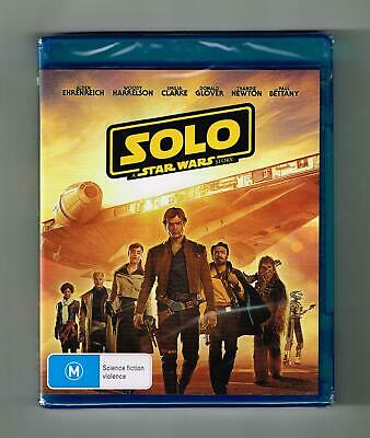 Solo - A Star Wars Story Blu-ray Brand New & Sealed