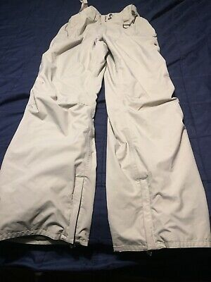 Planet Earth Rider Designed Outerwear Tan Cedar Ski Snow Pants Women Size Small