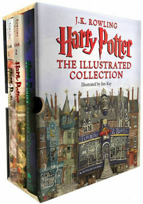 Harry Potter: The Illustrated Collection (Books 1-3 Boxed Set) by J.K. Rowling