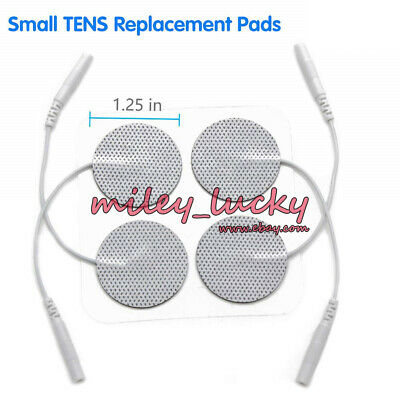 40x TENS Electrode Pads Replacement for Unit 1.25'' Back Massage EMS Machine