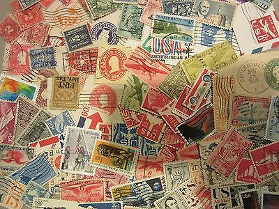 Older USA postage stamp lot ***ALL DIFFERENT 'BACK OF BOOK*** FREE SHIPPING