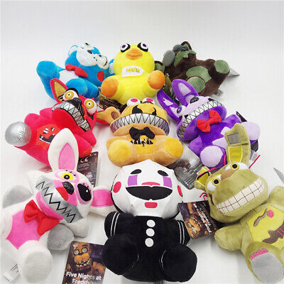 """Five Nights at Freddy's FNAF Horror Game Plush Doll Kids Plushie Toy 7"""" New"""