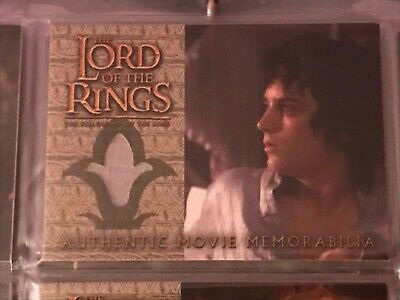 Lord Of The Rings FotR Update Costume Card Frodos Elven Nightshirt